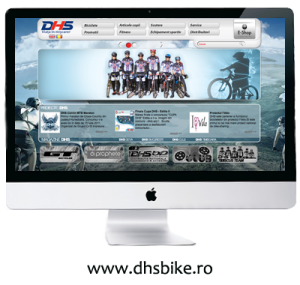 DHS Bike - Web design